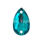 Капля - Sun-Shine - Blue Zircon - 18*11 мм